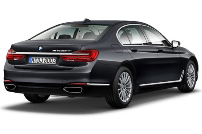 BMW M760Li On Launch Cards in India
